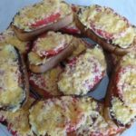 Бутерброды с помидорами — фото сервировки