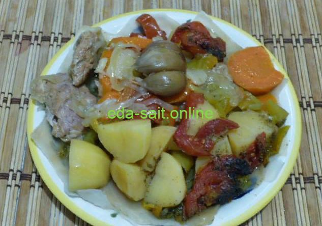 Узбекское блюдо басма фото