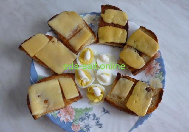 Жареные бутерброды с сыром