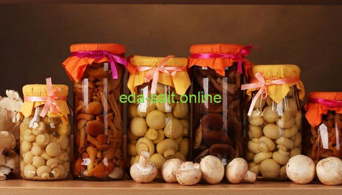 Заготовка грибов на зиму