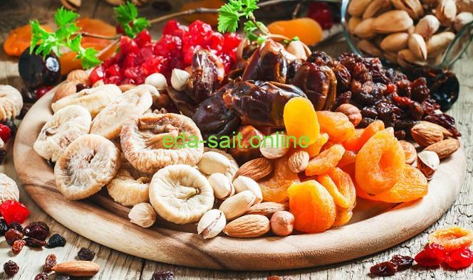 Чем закусывать коньяк орехи и сухофрукты