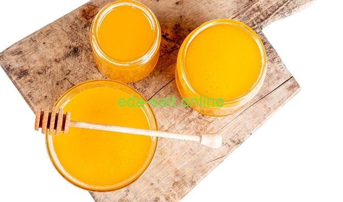 Мед как закуска для коньяка