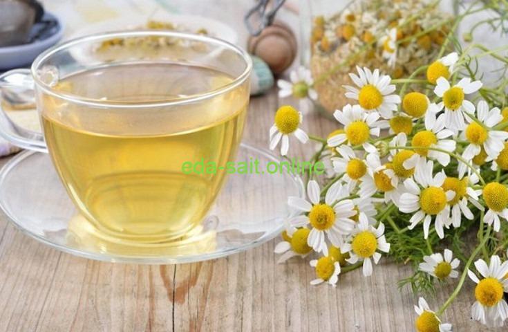 Травяные чаи ромашковый