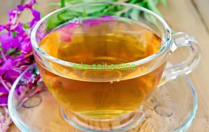 Травяной чай с иван чаем