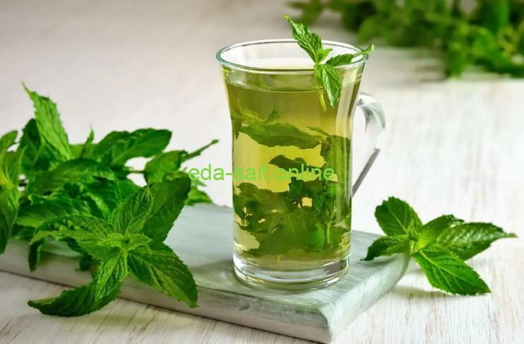 Травяные чаи мята