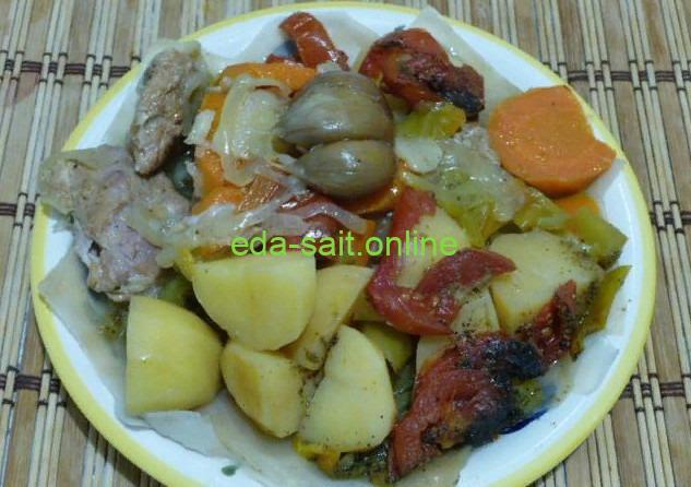 Тушение овощей фото