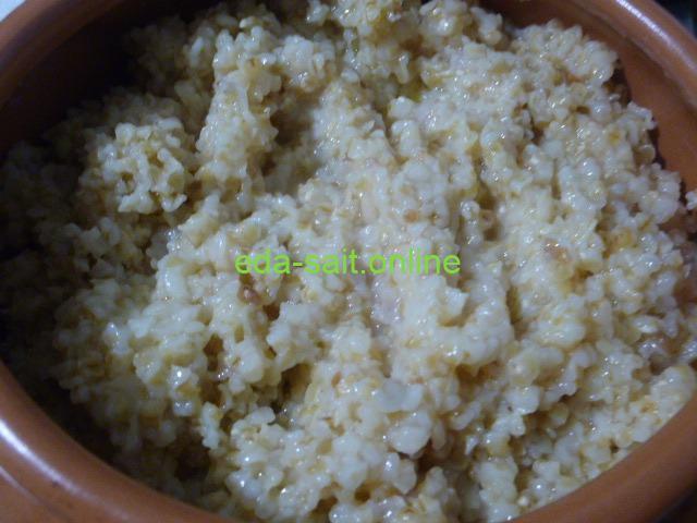 Каша из пшеничной крупы