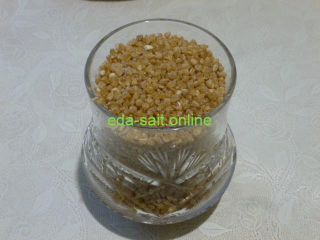 Пшеничная крупа для каши