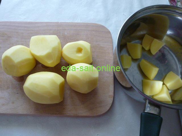 Картошка для приготовления с тушенкой