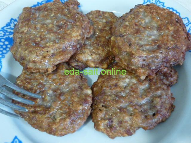 Котлеты из печени и фарша пошаговый рецепт с фото