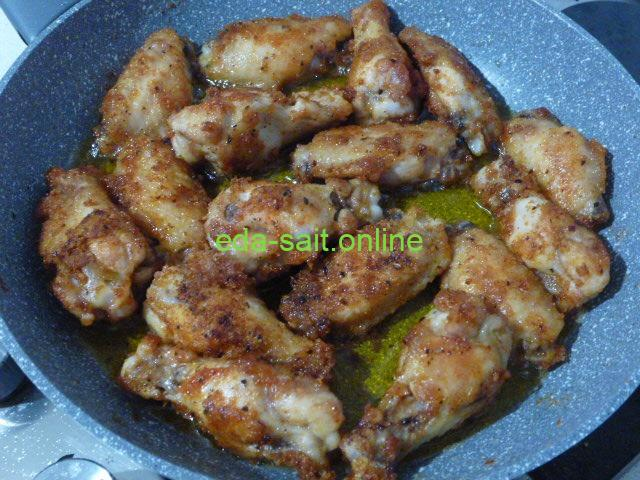 Куриные крылья барбекю пошаговый рецепт с фото