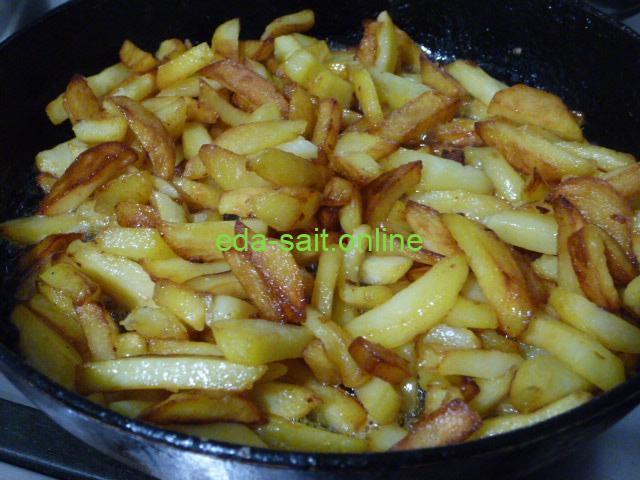 Жарим картошку на маргарине