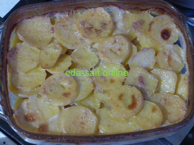 Картошка со сливками пошаговый рецепт с фото