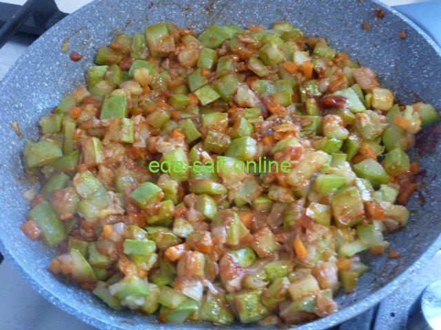 Кабачки жареные пошаговый рецепт с фото