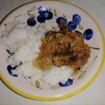 Говяжья печень с рисом вариант сервировки фото