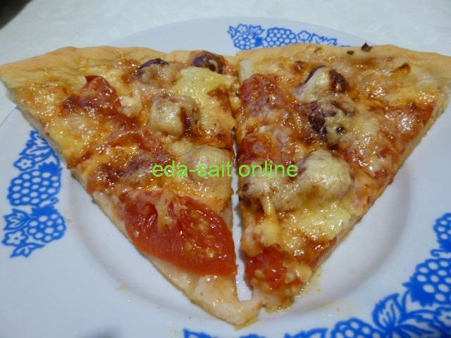 Как приготовить пиццу с колбасками