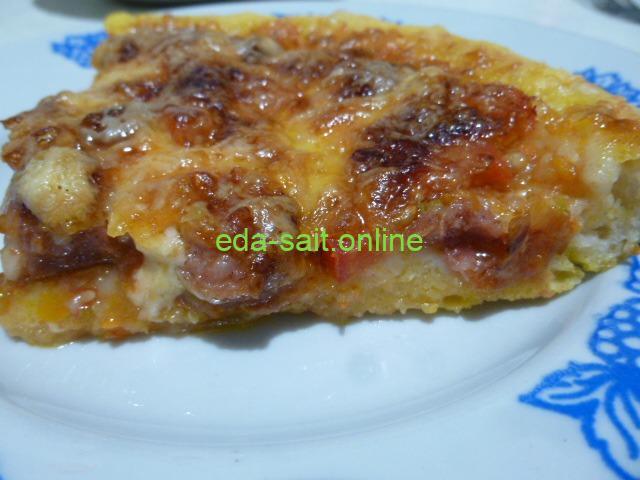 Пицца с икрой пошаговый рецепт с фото
