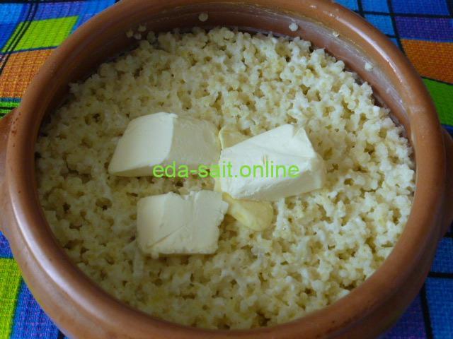 Пшённая каша с молоком пошаговый рецепт с фото