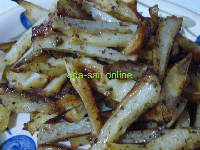 Запеченная картошка как жареная фото