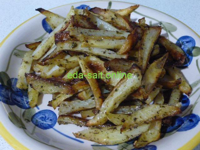 Запеченная картошечка как жареная
