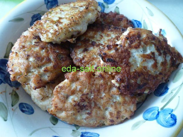 Котлеты из куриной грудки пошаговый рецепт с фото