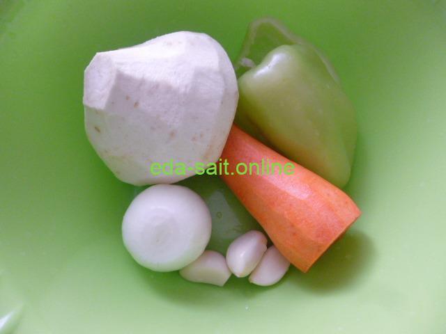 Овощи для кускуса