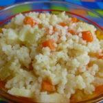 Овощи с кускусом-как приготовить